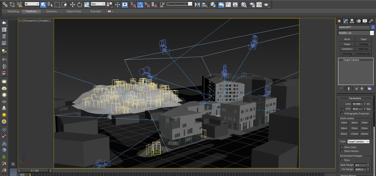 Modellazione di un complesso architettonico