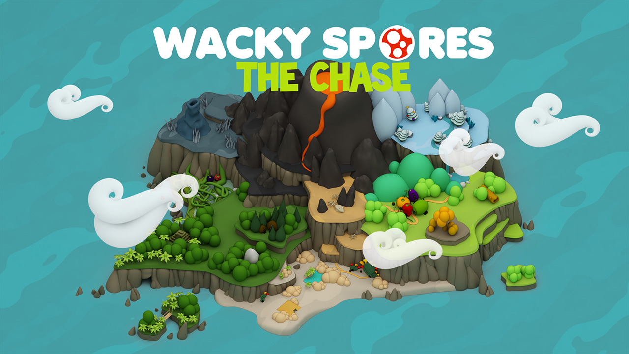 Wacky Spores: The Chase screenshot